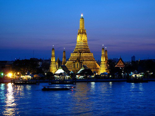 Wat Arun in The Night