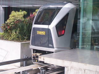 MRT for out from Changi. Charging FREE