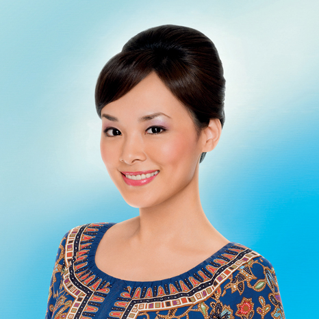 They Are SQ Girls WellImpeccably Groomed Vinia R Prima - Croissant hairstyle bun